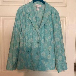 Susan Graver blazer jacket